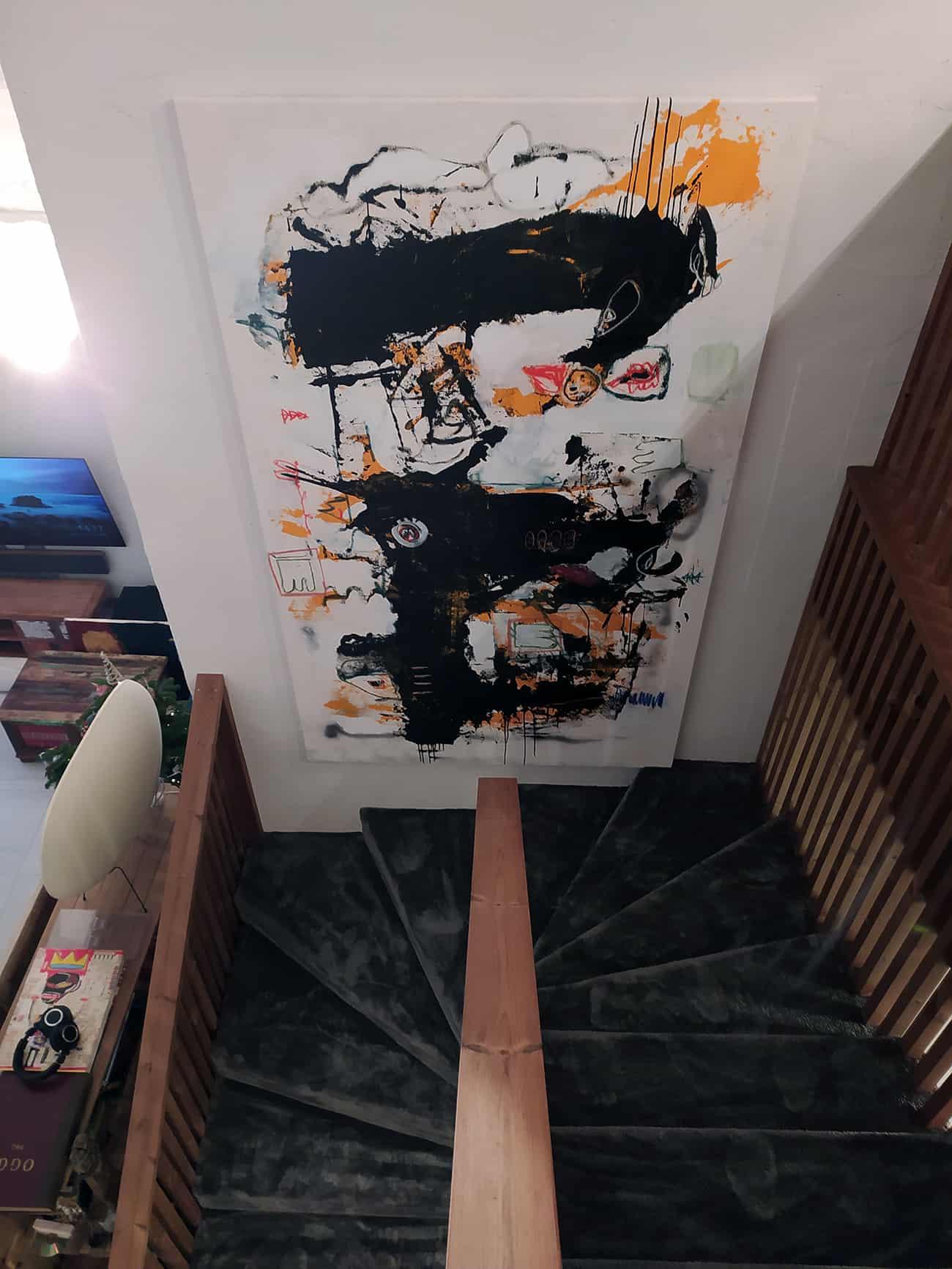 Laiptai iš viršaus